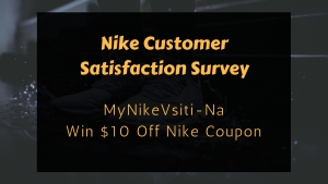 Nike Customer Satisfaction Survey